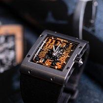Richard Mille RM 016 Titanio Transparente Arábigos