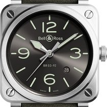 Bell & Ross BR 03-92 Steel new Automatic Watch with original box Reference