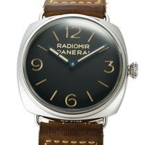 Panerai Radiomir 3 Days 47mm pre-owned 47mm Black Leather
