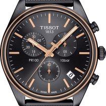 天梭 PR 100 全新 2020 石英 计时码表 带有原装包装盒和原始证书的手表 T101.417.23.061.00
