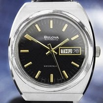Bulova Steel 36mm Automatic pre-owned