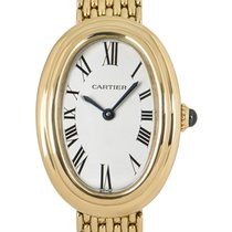 Cartier Yellow gold 22mm Manual winding Baignoire pre-owned