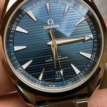 Omega 220.10.41.21.03.001 Acier 2020 Seamaster Aqua Terra 41mm nouveau