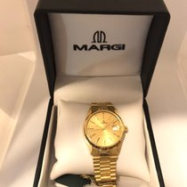 Margi Yellow gold 35mm Automatic 14640 new