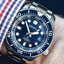 Seiko Marinemaster gebraucht 44,3mm Blau Datum Stahl