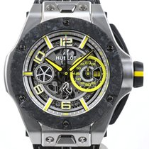 Hublot Big Bang Ferrari Platine Transparent Arabes