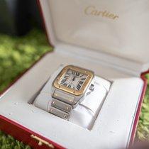 Cartier Santos 100 Zlato/Zeljezo 38mm Bjel Rimski brojevi Hrvatska, Dubrovnik