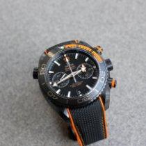 Omega Keramiek Automatisch Zwart 45.5mm tweedehands Seamaster Planet Ocean Chronograph