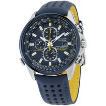Citizen Promaster Sky Steel 43mm Blue United States of America, New Jersey