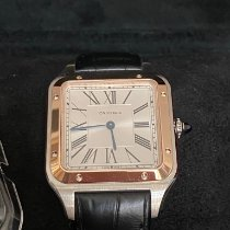 Cartier Santos Dumont new 2020 Quartz Watch with original box and original papers W2SA0011