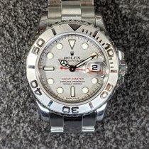 Rolex Yacht-Master Steel 29mm Silver No numerals