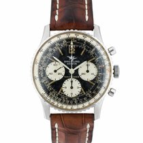 Breitling Navitimer pre-owned 41mm Black Chronograph Leather