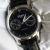 Glashütte Original Senator Hand Date Steel 40mm Black No numerals