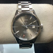 TAG Heuer Carrera Calibre 7 Steel 41mm Grey No numerals United States of America, New Jersey, Fords