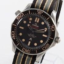 Omega Seamaster Diver 300 M Титан 42mm Коричневый Без цифр