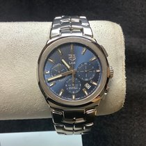 TAG Heuer Link Steel 41mm Blue No numerals United States of America, New Jersey, Fords