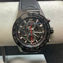 TAG Heuer Carrera Calibre HEUER 01 Steel 45mm Black No numerals United States of America, New Jersey, Fords