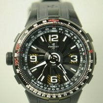 Perrelet Turbine Pilot pre-owned Black Steel