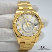 Rolex Sky-Dweller Yellow gold 42mm Silver Arabic numerals United States of America, New York, New York