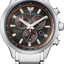 Citizen Titanium Chronograph AT2470-85H new