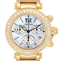 Cartier Pasha Seatimer Yellow gold 37mm Mother of pearl Arabic numerals United States of America, Georgia, Atlanta