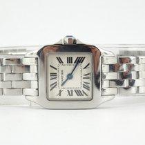 Cartier Santos Demoiselle Steel 20mm White Roman numerals