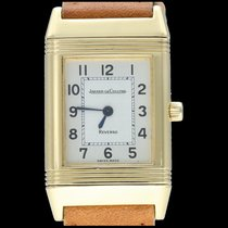 Jaeger-LeCoultre Reverso Classic Small Or jaune 20mm Argent Arabes