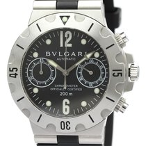 Bulgari Steel 38mm Automatic SC38S pre-owned