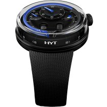 HYT (エイチ・ワイ・ティ) H0 ステンレス 48.8mm ブラック