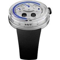 HYT (エイチ・ワイ・ティ) H0 ステンレス 48.8mm シルバー