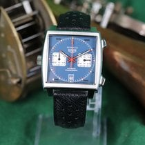 Heuer Steel 39mm Automatic CAW211P-FC6356 pre-owned