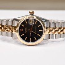 Rolex Lady-Datejust Or/Acier 31mm Noir Sans chiffres