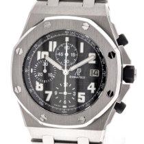 Audemars Piguet Royal Oak Offshore Chronograph neu 2012 Automatik Chronograph Uhr mit Original-Box und Original-Papieren 25721ST.OO.1000ST.09.A