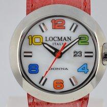 Locman new Quartz 35mm Steel Mineral Glass