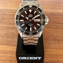 Orient (オリエント) カマス ステンレス 42mm ブラック 文字盤無し
