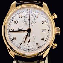 IWC Portuguese Chronograph Or rose 42mm Argent Arabes Belgique, Antwerpen