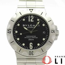 Bulgari Steel 38mm Automatic SD38SSD pre-owned
