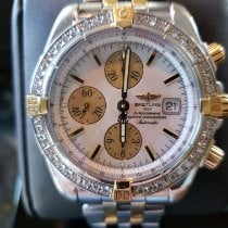 Breitling Chronomat Evolution Acero y oro 44mm Madreperla Sin cifras
