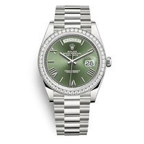 Rolex 228349RBR Or blanc 2019 Day-Date 40 40mm occasion France, Paris