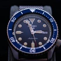 Seiko 5 Sports Steel Blue No numerals United States of America, New York, Ardsley