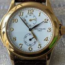 Patek Philippe Travel Time Yellow gold 37mm White Arabic numerals United States of America, Indiana, INDIANAPOLIS