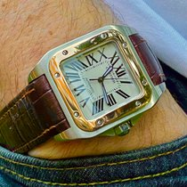 Cartier Santos 100 Steel 33mm White Roman numerals United States of America, Florida, Pembroke Pines