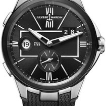 Ulysse Nardin Executive Dual Time Steel 42mm Black United States of America, New York, Airmont