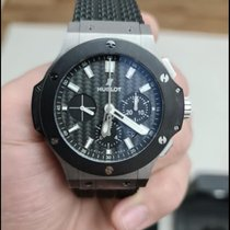 Hublot pre-owned Automatic 44mm Black Sapphire crystal 10 ATM