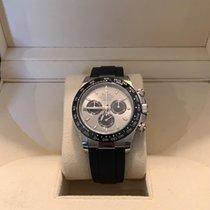 Rolex Or blanc Remontage automatique Gris Sans chiffres 40mm nouveau Daytona
