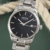 Union Glashütte Viro Date Steel 41mm Black