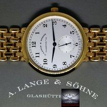 A. Lange & Söhne Or jaune Remontage manuel Argent 36mm occasion 1815