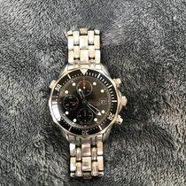 Omega Seamaster Diver 300 M Steel Black No numerals