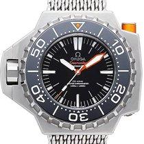 Omega Seamaster PloProf Titanium 55mm Zwart Geen cijfers