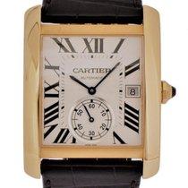 Cartier Tank MC Rose gold 34.5mm Silver